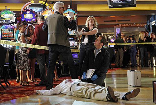 Casino Crime Scene
