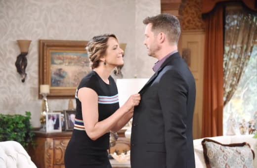 Nicole and Brady Look Happy - Days of Our Lives