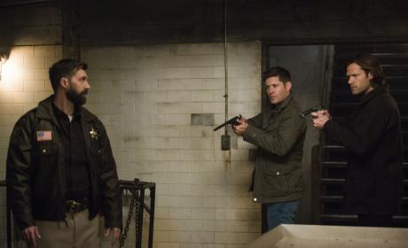 Sam and Dean don't trust him - Supernatural Season 12 Episode 18