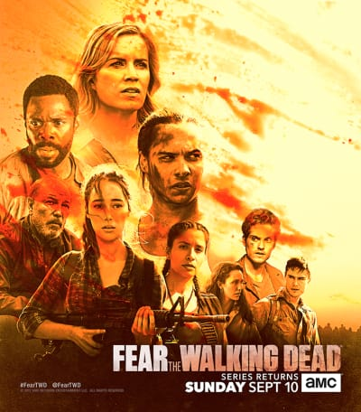 Fear The Walking Dead Season 3 Poster