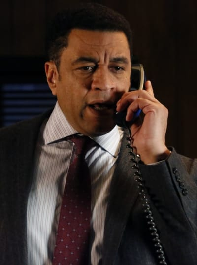 Harold on the Phone - The Blacklist Season 6 Episode 21