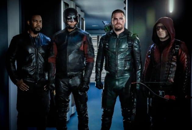A-Team  - Arrow Season 7 Episode 22