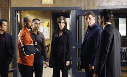 Castle Season Finale Scoop: A Competition for Beckett's Affection