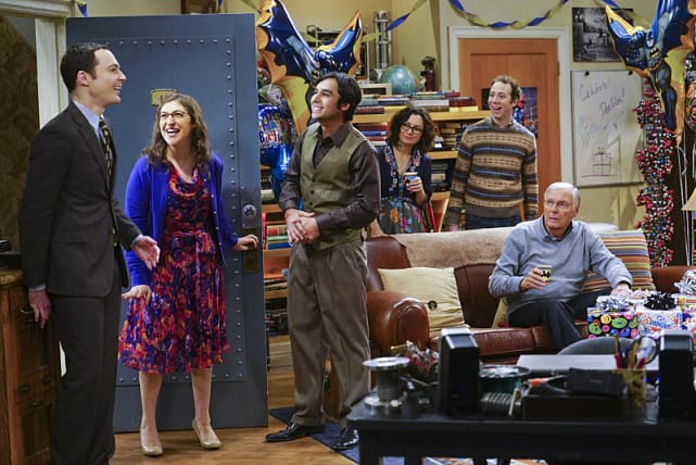 A birthday surprise the big bang theory