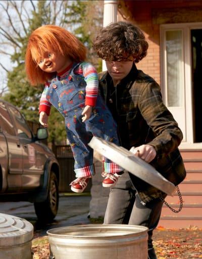 Trash Time - Chucky Season 1 Episode 1