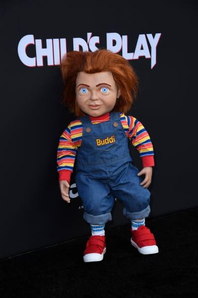 Chucky Attends Premiere