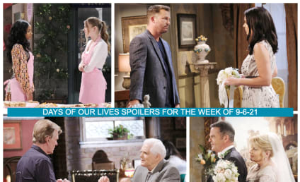 Days of Our Lives Spoilers Week of 9-6-21: A Heartbreaking Story Begins