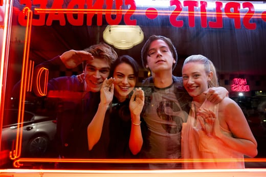 Behind the Scenes Goofin' Around - Riverdale