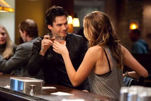Drinking with Damon