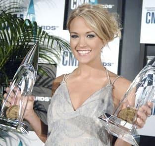 Carrie Underwood: Double Winner!