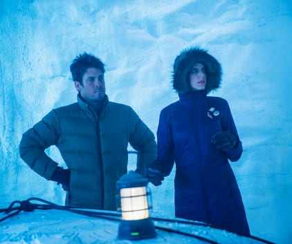 A Snow Cave - The Librarians