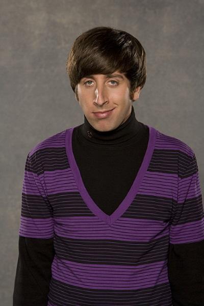 Simon Helberg as Howard Wolowitz - The Big Bang Theory