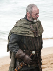 Liam Cunningham as Davos Seaworth