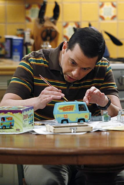 Alan and His Model Cars