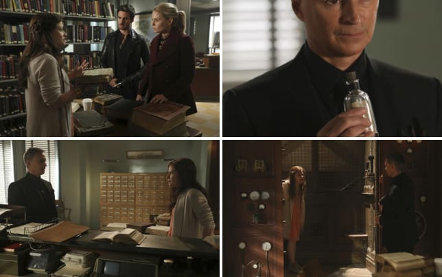 Help in the library once upon a time season 6 episode 9