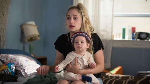 "Jessa and Baby ""Sample"" - Girls Season 5 Episode 8"