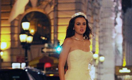 Blair Waldorf Wedding Dress