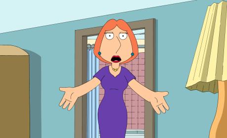 Lois Is Allergic - Family Guy
