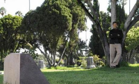 Pete at the Cemetery