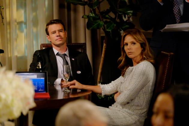 The Unhappy Couple - Scandal Season 6 Episode 1