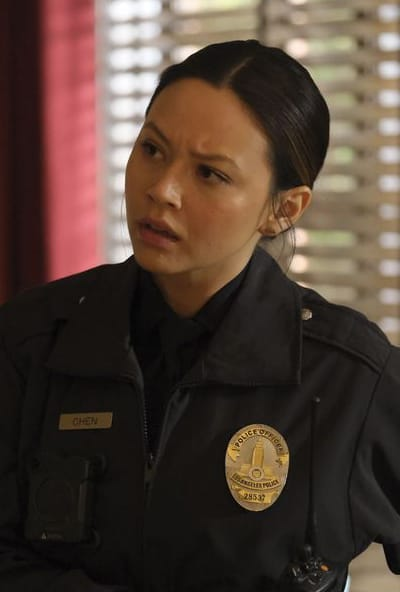 Chen Looks Concerned - The Rookie Season 1 Episode 20