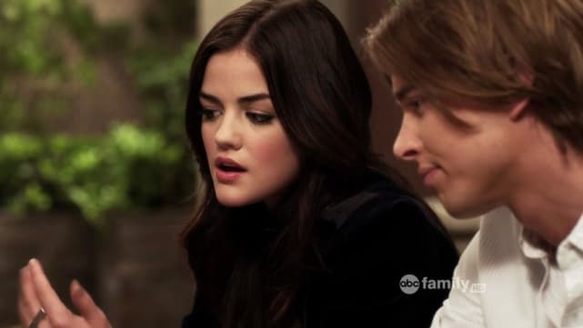 Jason and Aria - Pretty Little Liars