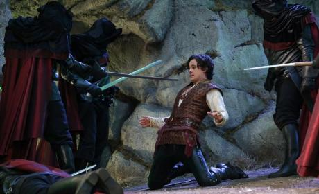 Once Upon a Time in Wonderland Premiere Scene