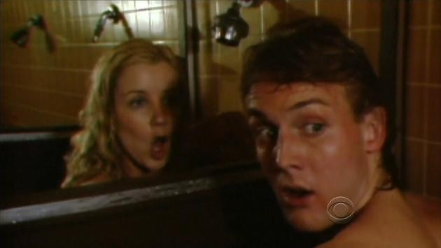 Paul and Nikki Skinny Dipping