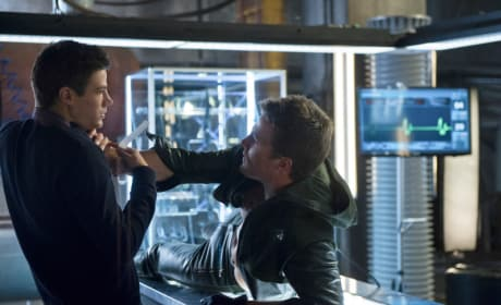 Grabbing Barry