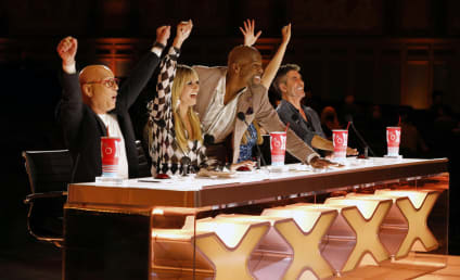 Terry Crews Gives Us the Scoop on His Golden Buzzer, Emotions on the Show, and More!
