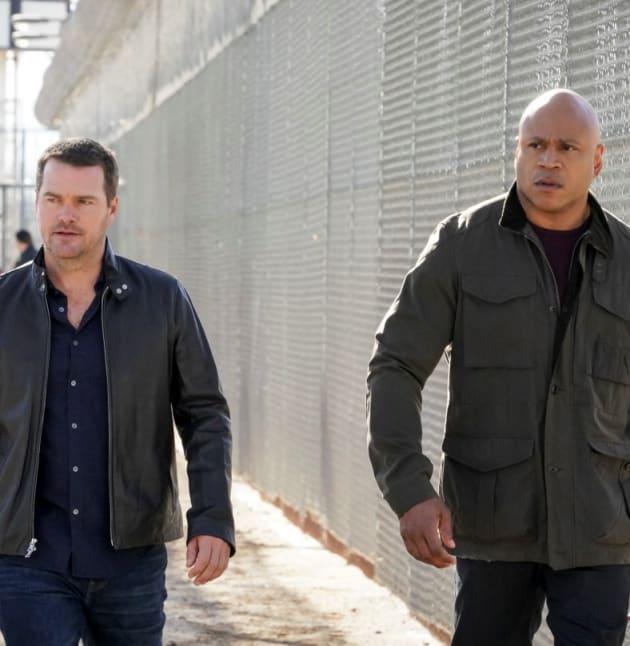 Anna Kolchek Escapes -- Tall - NCIS: Los Angeles Season 10 Episode 21