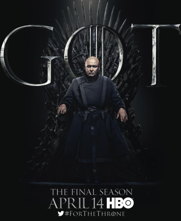 Varys on the Throne - Game of Thrones