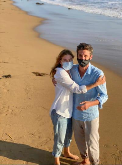 Ellen Pompeo and Patrick Dempsey Reunite - Grey's Anatomy
