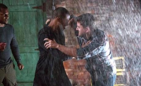 Fighting with Marcel - The Originals Season 2 Episode 1
