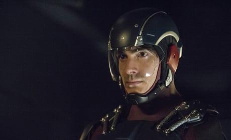 Visor Down - Arrow Season 3 Episode 15