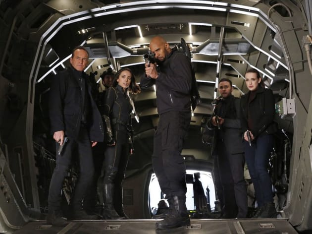 Saving Mace - Agents of S.H.I.E.L.D.