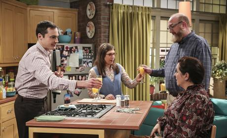 Cheers! - The Big Bang Theory Season 10 Episode 6