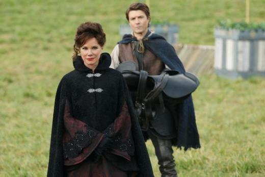 Barbara Hershey on Once Upon a Time