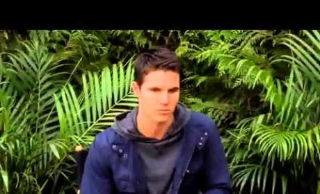 Robbie Amell Promotes The Tomorrow People