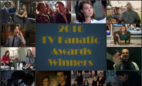 2016 TV Fanatic Awards: All the Winners!!