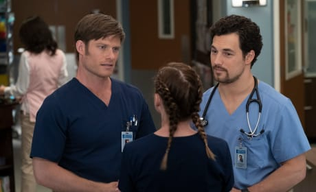 The Boys Love Mer - Grey's Anatomy Season 15 Episode 9