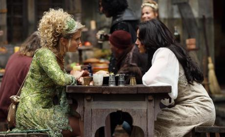 Regina and Tinker Bell