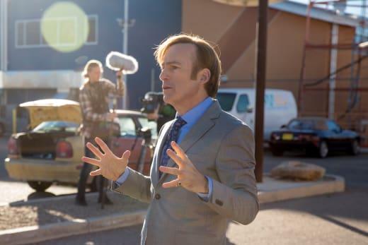 Jimmy on Set - Better Call Saul Season 3 Episode 6