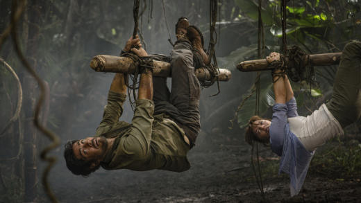 Just Hanging Out - Hooten and The Lady Season 1 Episode 1