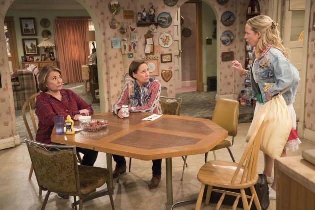 Becky Needs Help - Roseanne Season 10 Episode 6