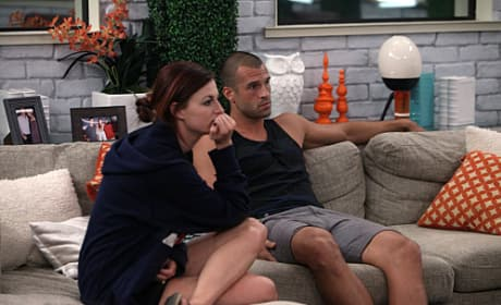 Brendon and Rachel on Big Brother