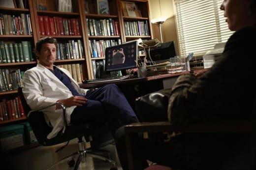 Derek in His Office