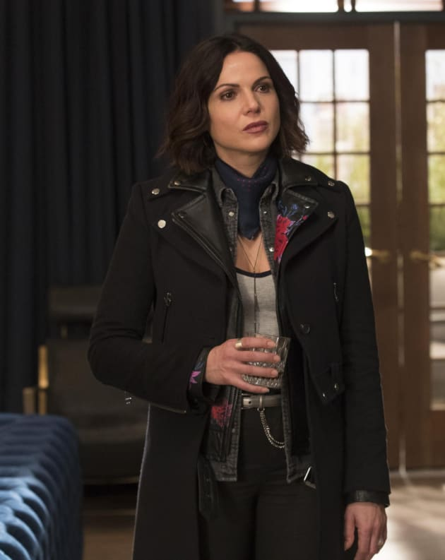 Regina Is Not Impressed - Once Upon a Time Season 7 Episode 18