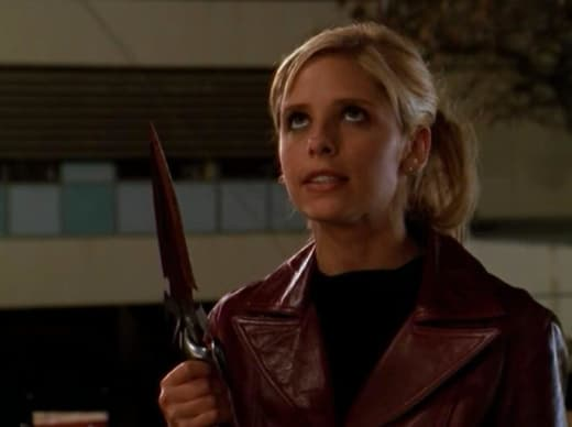 Returning Faith's Knife - Buffy the Vampire Slayer Season 3 Episode 22