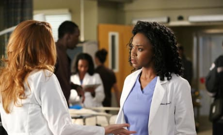 Stephanie and April - Grey's Anatomy Season 11 Episode 8
